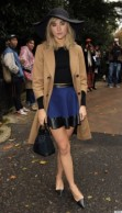 Celebrity Sightings At London Fashion Week SS14 - Day 3